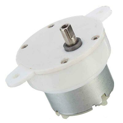 12v Dc 3 Rpm High Torque Cylinder Electric Micro Motor Gearbox Slow Down Mute