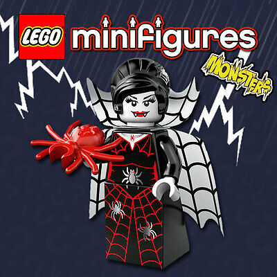 LEGO Minifigures #71010 - Halloween / Monsters - Spider Lady - NEW / Sealed