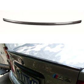 BMW e46 3 series boot spoiler - Primed