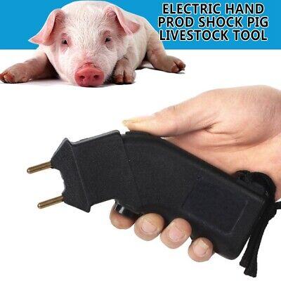 6v Mini Electric Cattle Prod Shock Goat Pig Livestock Tool Handhold Device Us