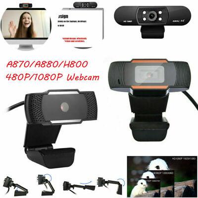 NEW HD 480P/720P/1080P Webcam Auto Focusing Web Camera Cam For PC Laptop Desktop