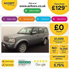 Land Rover Discovery 4 FROM £129 PER WEEK!