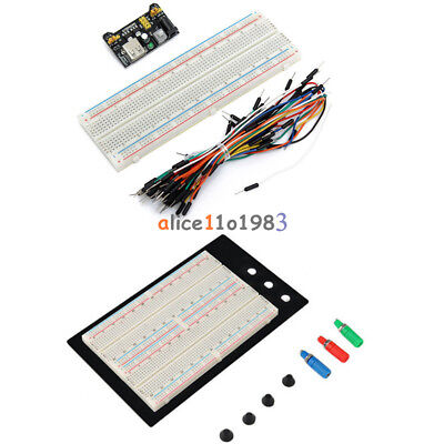 400830 Mb102 Point Breadboard 1660 Power Supply Module W Jump Wire For Arduino
