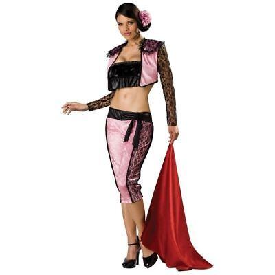 Fighter Halloween (SEXY PINK MATADOR BULL FIGHTER HALLOWEEN COSTUME ADULT XS S M L 2 4 6 8 10 12 14)