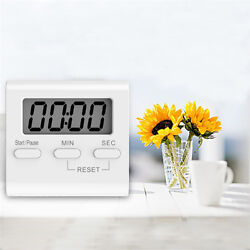LCD Large Digital Cooking Kitchen Timer Up Clock Count-Down Loud Alarm Magnetic