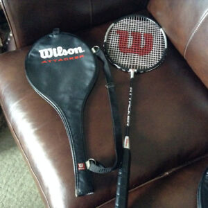 (NEW) Wilson Attacker Badminton Racquets with covers