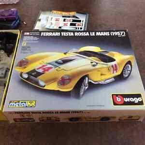 Burago testa rossa Le Mans 1957
