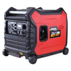 DuraDrive DP3500 3,500-Watt Ultra-Quiet Gas-Powered Generator