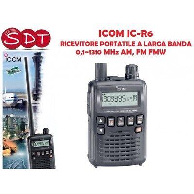 ICOM IC-R6 RECEPTOR 1 UN GRANDE BANDA 0,1~1310 MHz AM, FM FMW segunda mano  Embacar hacia Spain