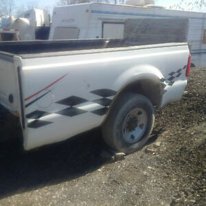 2008 ford F250,350,450 super duty 8ft Box with tail lights