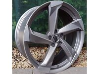 "19"" New R8 Style Alloy Wheels for VW Audi Seat Etc"