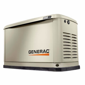 BACK UP GENERATOR, NATURAL GAS OR PROPANE, INSTALLED