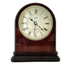 Stiffel Westminster Chime Mantle Clock Quartz Movement Lacquered Wood Finish