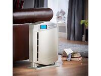 VonHaus Air Purifier with Remote - HEPA Filter, Ioniser Diffuser Removing Pollutants & Allergens
