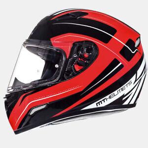 MT Mugello Maker Red Gloss Motorcycle Helmet