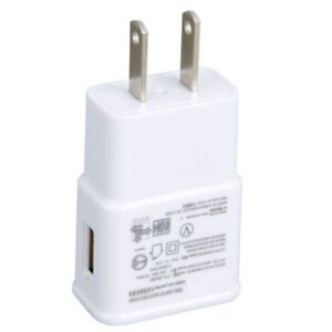 SAMSUNG USB WALL ADAPTER CHARGER PLUG FOR GALAXY SMART PHONES