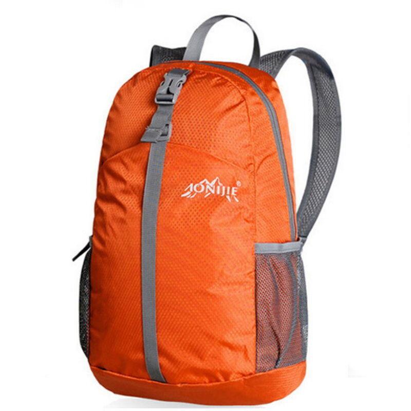 AONIJIE Nylon Hike Backpack Outdoor Hiking Hunting Camp Bag - Orange