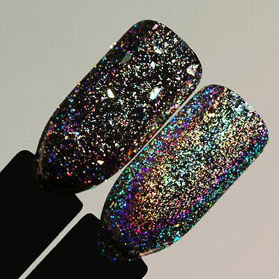 BORN PRETTY Galaxy Holo Flakes Nail Sequins Bling Laser Powder Glitter Chrome