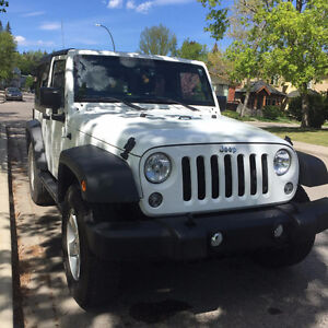 Sell my 2015 Jeep Wrangler Sport S, Upgraded
