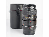 Minolta MD 50mm Macro lens with 1:1 adapter and adapter for Fuji X
