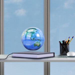 Brand new Magnetic Levitation Globe, 6'' Floating Rotating World
