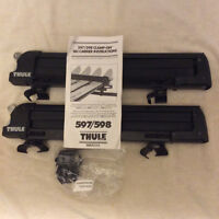 Thule 597/598 clamp on ski carrier