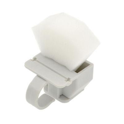 Dental Autoclavable Plastic Endo Clean Finger Ruler Standard Holder Sponge Foam