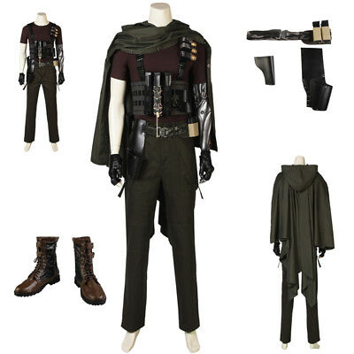 High quality X-Men Deadpool 2 CABLE Cosplay Costume Halloween FULL Suit