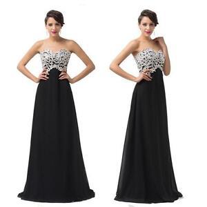 Black and white dress dresses ebay black and white bridesmaid dresses junglespirit Images