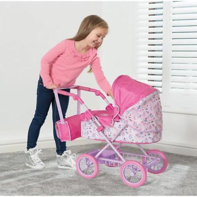 Baby Born Puppen Kinder Puppenwagen Rosa Puppen Sportwagen Kinderwagen Set