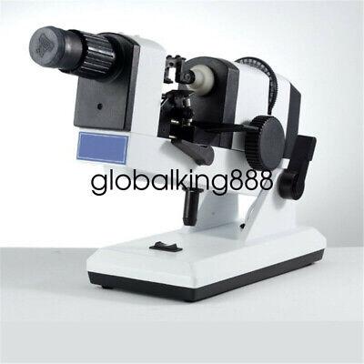 Pro Lab Optical Lensmeter Manual Lensometer Lens Tester Prism Unit With Adapter