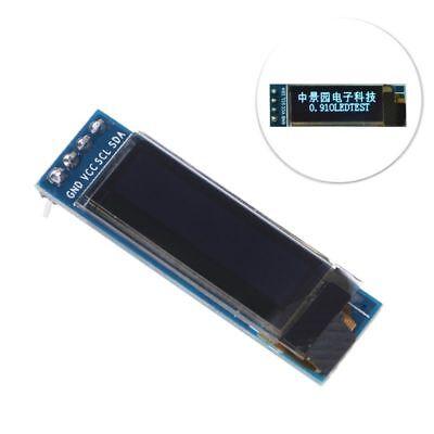 Iic I2c 0.91 128x32 White Oled Lcd Display Module 3.3v 5v Ssd1306 For Arduino