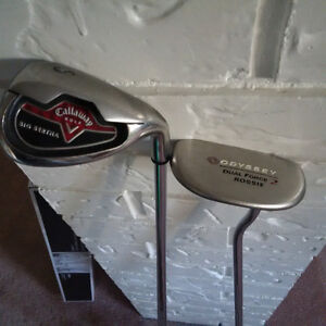 Callaway S Wedge and Odyssey Putter
