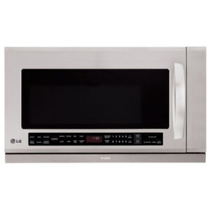* LG LMHM2017ST 2 cubic ft Over-the-Range Microwave