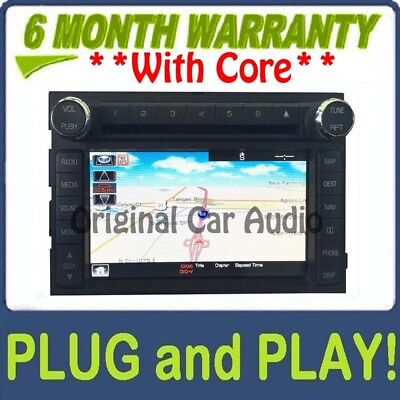 Used, 09 10 11 12 LINCOLN Navigator OEM Navigation HD Radio XM AM FM CD Player HDD for sale  Burnsville