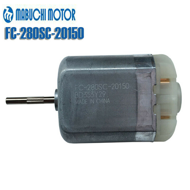Mabuchi FC-280SC-20150 DC12V Car Door Lock Actuator Repair Motor 18mm Long Shaft