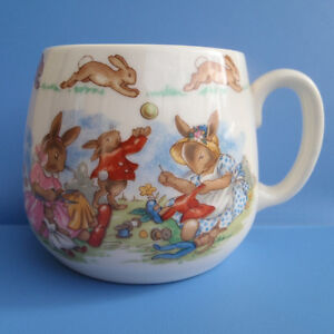 Vintage Royal Doulton BUNNYKINS Bone China Mug Cup
