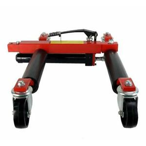 Hydraulic Jack Portable Tire Lift Car Move Positioning 1T One Set(022158)