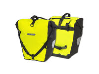 Ortlieb Back Roller Pannier (Pair) - QL2.1 Fixing - High Visibility Yellow - NEW