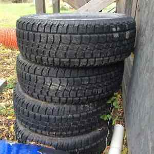 Snow Tires, excellent condition SOLD Peterborough Peterborough Area image 1