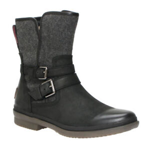 UGG Waterproof Simmens Leather/Wool Ankle Boots size 7, 145$