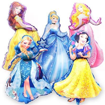 Big Size Disney Princess Foil Balloons Girls Birthday Decoration Party Supplies - Disney Princess Party Decor