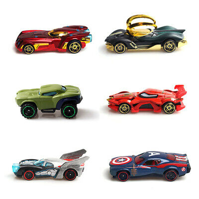 7PCS The Avengers Marvel Heroes Style Truck /& Car Model Gift Toy Vehicle Kid