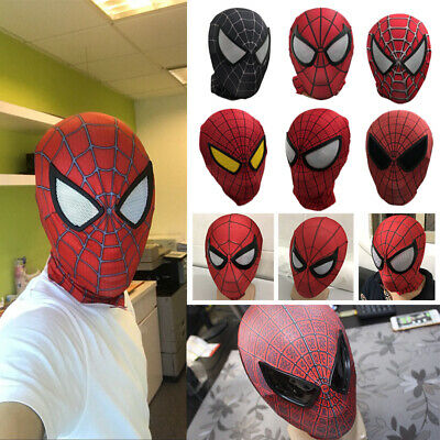 Amazing Spider-Man 2 Mask Spiderman Halloween Cosplay Costume Props High Quality](Quality Halloween Costumes)