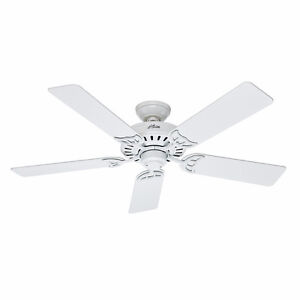 "HUNTER CEILING FAN, 52"", HIGH END FAN, BNIB, NEW SEALED BOX   P"