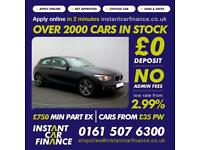 BMW 116 1.6 ( 136bhp ) ( s/s ) Sports Hatch Auto 2014MY i Sport