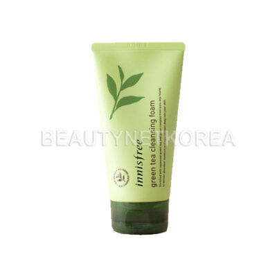 [INNISFREE]  Green Tea Cleansing Foam 30ml / Gift 1pcs - BEST Korea Cosmetic