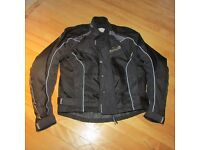 "Wolf Racing Textile Motorcycle Jacket. Size 42"" chest."