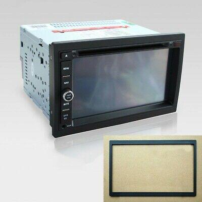 1glt Coche Audio Marco 2Din para Radio de Reproductor DVD Plástico Profesional