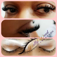 Eyelash Extensions service excepting West Island clients